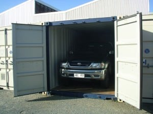 container car storage